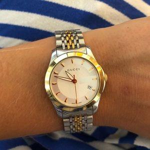 07d590c04749 Women s Gucci G Timeless Stainless Steel Bracelet Watch on Poshmark